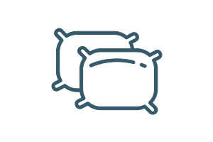 Animated pillows icon