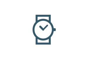 Animated watch icon