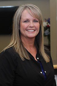 Head shot of dental assistant Dana