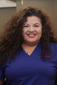 Head shot of hygiene coordinator Linda